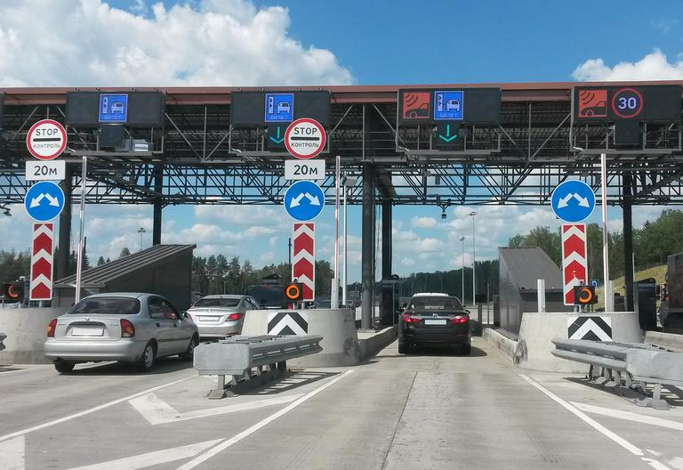 avoiding french toll charges