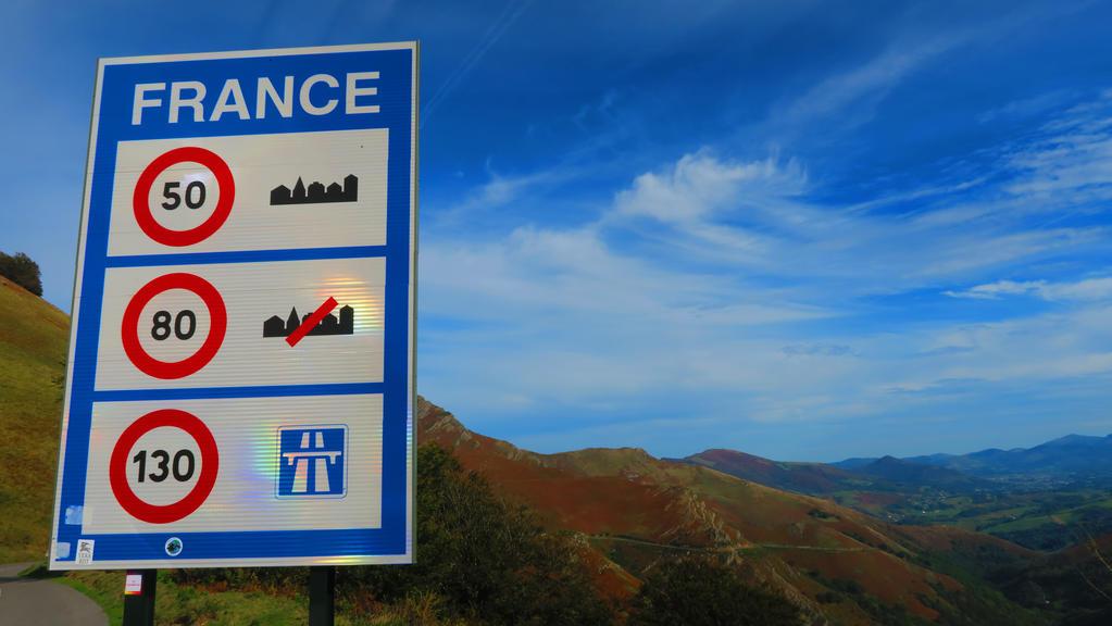Speed Limit in France Motorway